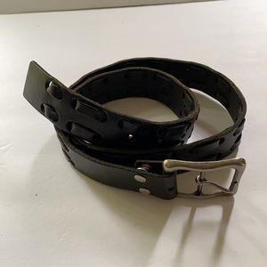 Lucky Brand | Black Leather Belt